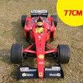 Expresso navio 1:6 77 cm 4ch super grande pop remoto Fórmula F1 crianças brinquedo elétrico modelo de carro de corrida de controle com 4 x pneus de reposição