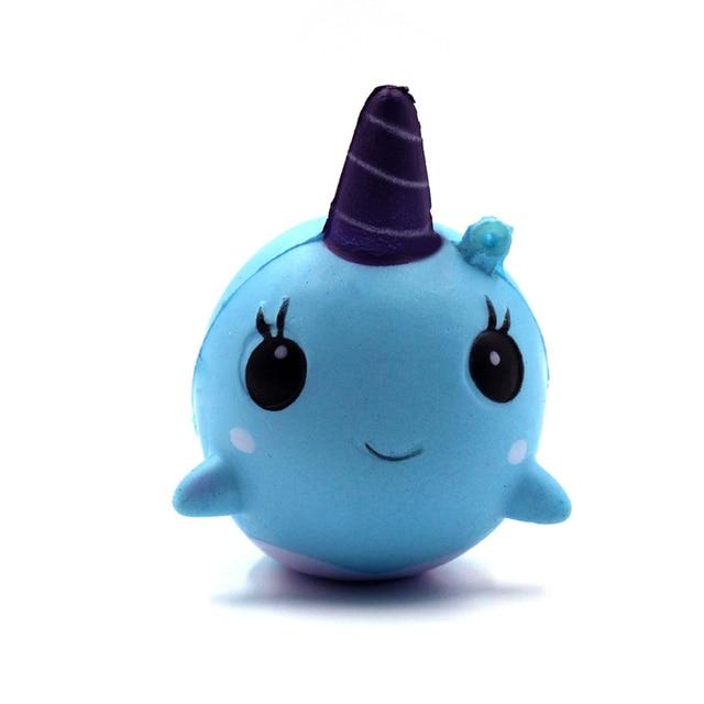 Aliexpress.com : Buy Narwhal squishy Millie Uni Whale Kawaii squeeze squishy slow rising Phone ...