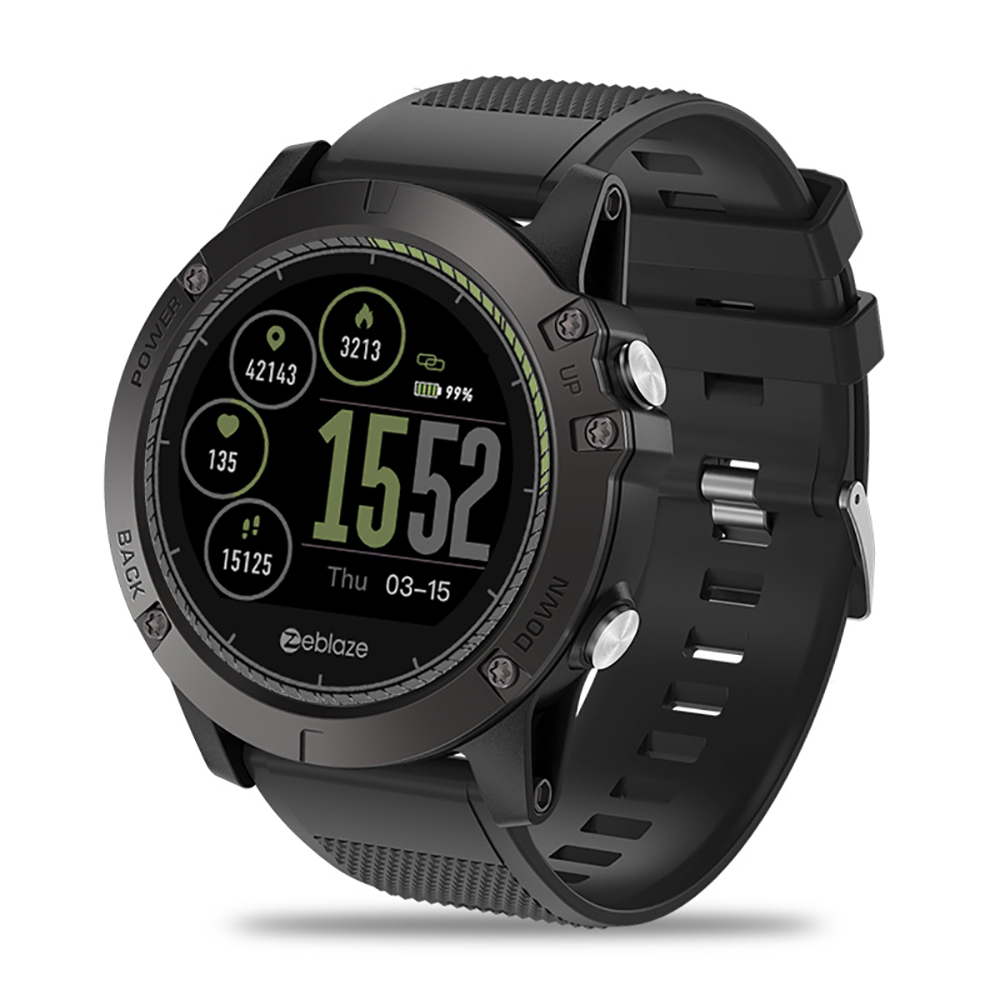 VIBE 3HR Smartwatch IP67 Waterproof Smart Wrist Fitness Tracker Pedometer Remote Camera Call Reminders Wristwatches IPS Display g6 tactical smartwatch