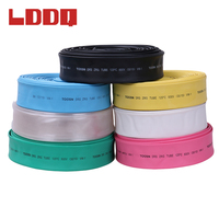 LDDQ 5m Heat Shrink Tube Insulation Sleeves Inner Diameter 25/30/35/40/50/60/70/80/100mm Ratio 2:1 Shrinkable Tubing PE Tubes