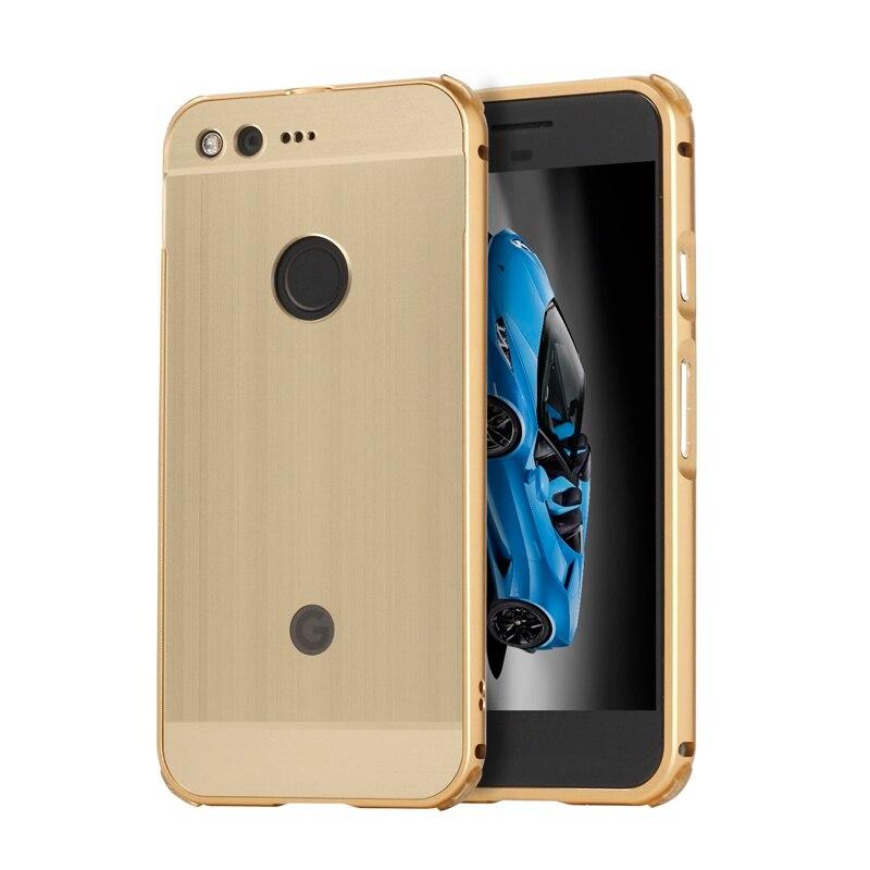 Case For Google Pixel Case Fundas For Google Pixel XL Case Luxury Aluminum Metal Mirror PC Hard Phone Back Cover Kimthmall