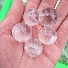 Высококачественный маленький прозрачный кварцевый хрустальный шар 1-2 см