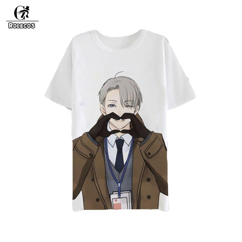 ROLECOS Anime Yuri !!! na lodzie Cosplay Kostium Koszule Victor - Kostiumy - Zdjęcie 1