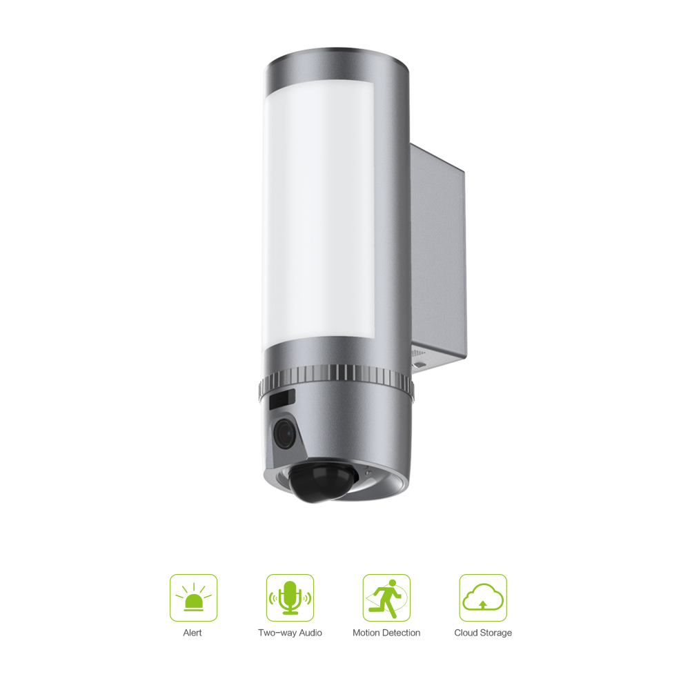 Freecam 1080P HD Wall-Light Camera Home Security Wifi Outdoor Camera,Motion-Activated Waterproof Two-way Talk Night Vision L900G