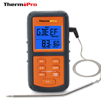 ThermoPro TP06 Digital Probe Food Meat Cooking Thermometer With Timer For BBQ Smoker Kitchen