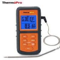 ThermoPro TP06 Numérique de Sonde de Nourriture Viande Thermomètre De Cuisson avec Minuterie pour BARBECUE/Fumeur/Cuisine