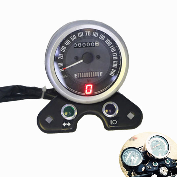 Motorcycle Odometer Speedometer Gear Digital Display for Honda CG125 Cafe Racer 10 is кожаные кеды ten top max