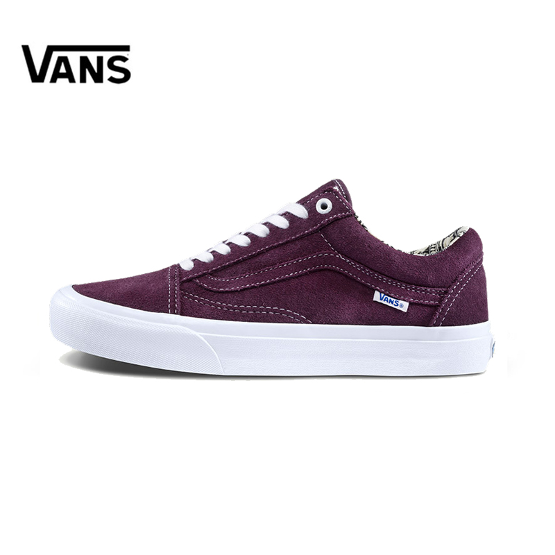 Original New Arrival Vans Men's Classic Old Skool Low-top Skateboarding Shoes Sneakers Canvas Comfortable VN000ZD4U1Z original new arrival van classic unisex skateboarding shoes old skool sport outdoor canvas comfortable sneakers vn000d3hw00