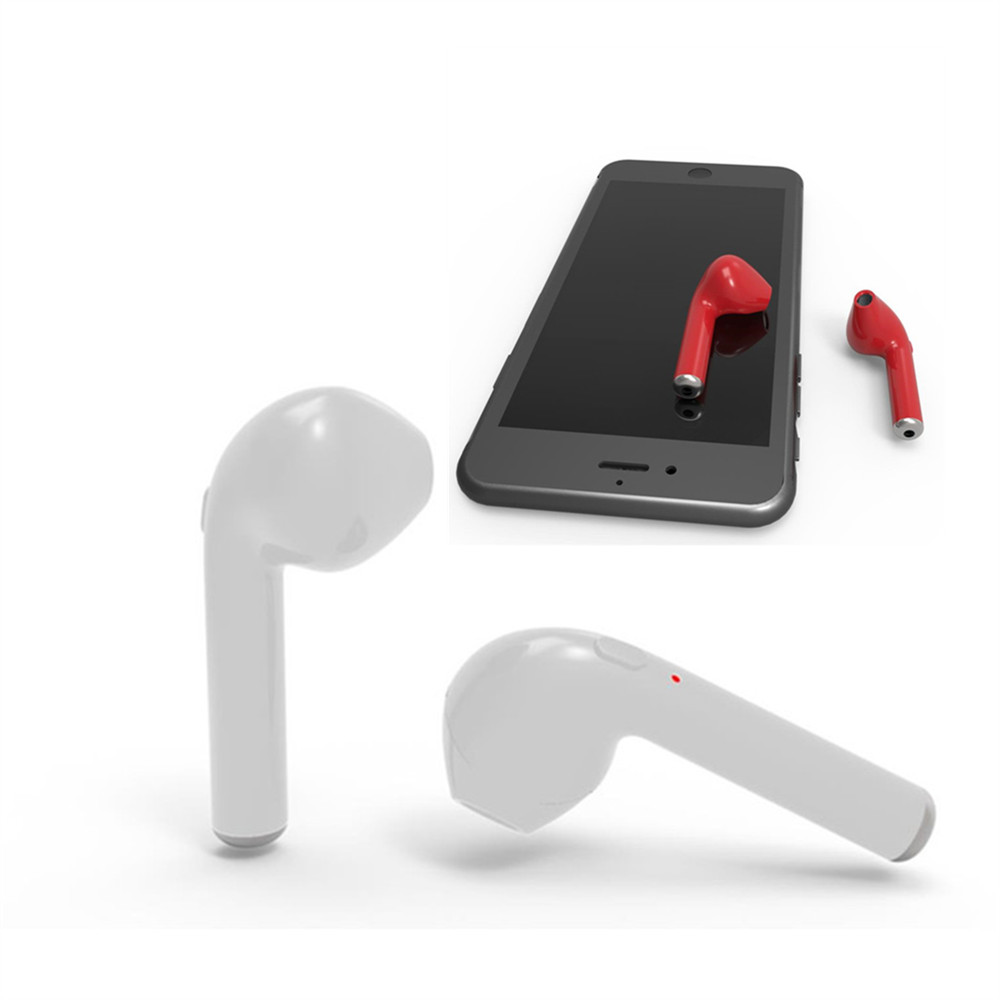 i7 Handsfree Stereo Headphones with Microphone HBQ- i7 Bluetooth In-Ear Earbuds 4.1 Wireless Earphones for iPhone Xiaomi remax bluetooth v4 1 wireless stereo foldable handsfree music earphone for iphone 7 8 samsung galaxy rb 200hb