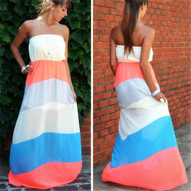 Popular Orange Beach Dresses-Buy Cheap Orange Beach Dresses lots ...
