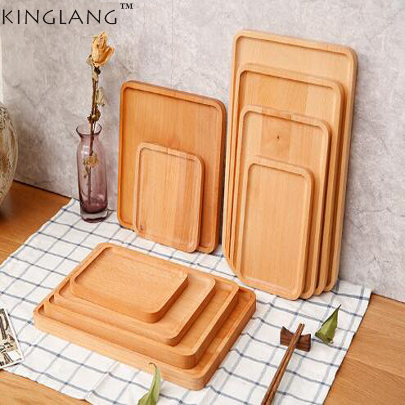 1 pc Restaurant Fruit Snacks Sushi Plate Chopping Board Bread Dish Pizza Plate ...