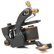 Professional Cast Iron Handmade Tattoo Machine Gun 8 Wrap Coils Tattoo Machine For Shader — HTM-1001S