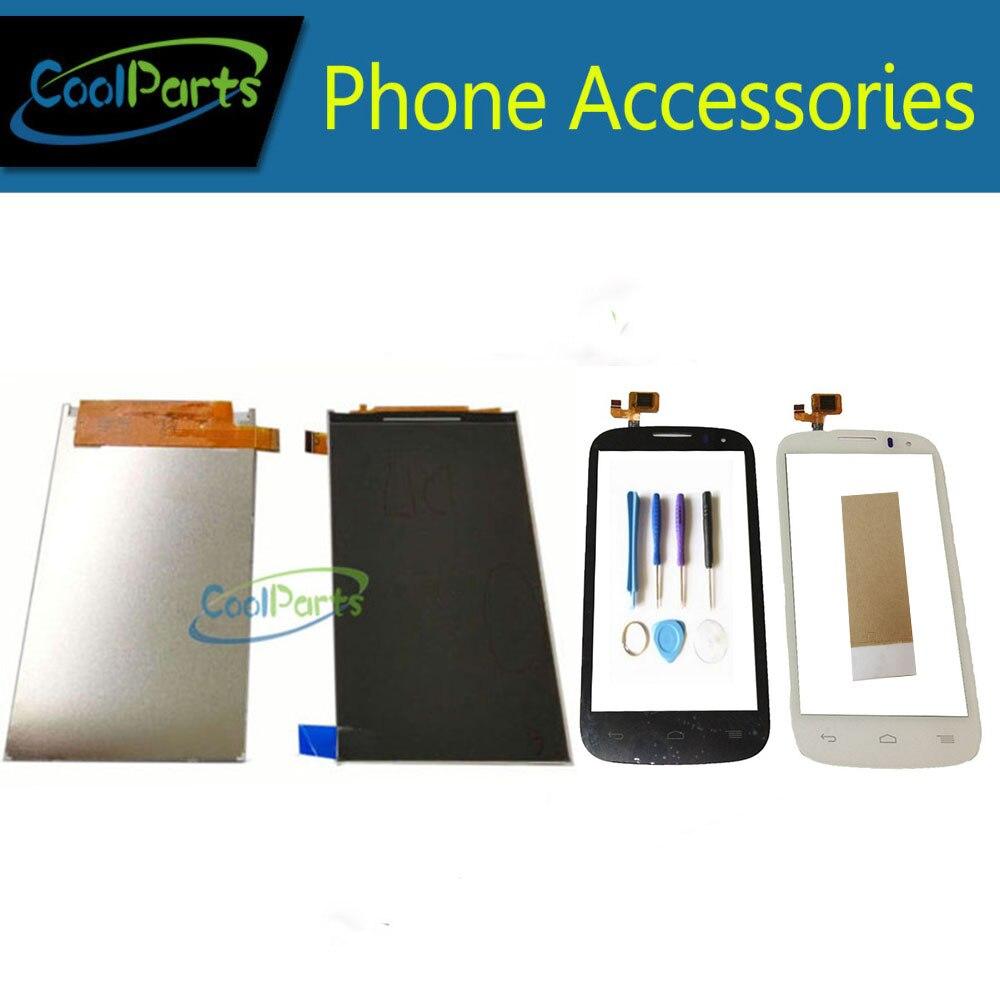 1 pc/lot alta calidad para Alcatel One Touch pop C5 5036D OT5036 OT5037 pantalla LCD + pantalla táctil digitalizador con cinta y herramienta
