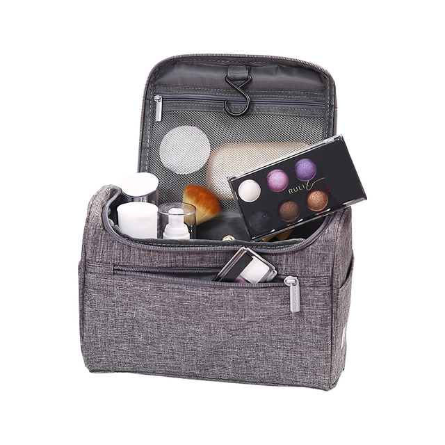 Travel Cosmetic Storage Bags Organizer Hanging Toiletries Makeup Kit Zipper  Box Wash Pouch Package Case Accessories b9041e2a15488