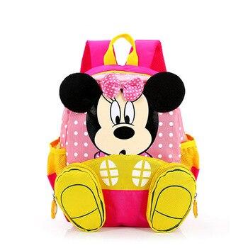 2017 Cartoon Mickey School Bag Minnie Kids Bag Children School Bag Kindergarten Backpack kid School Bags Satchel For Boys Girls