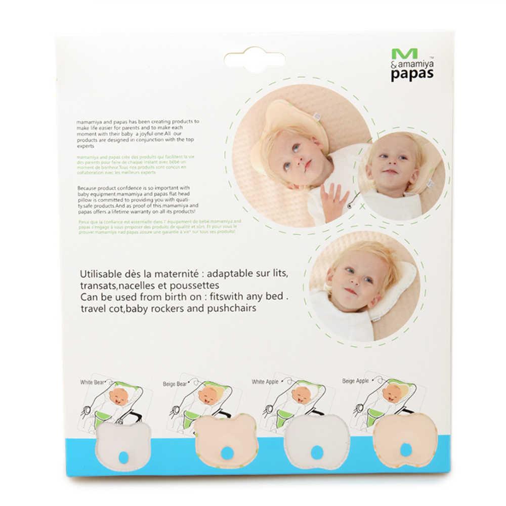 Для поддержки головы детей форме подголовник сна позиционер Анти ролл Подушка для кормления ребенка подушку, чтобы предотвратить плоской головкой