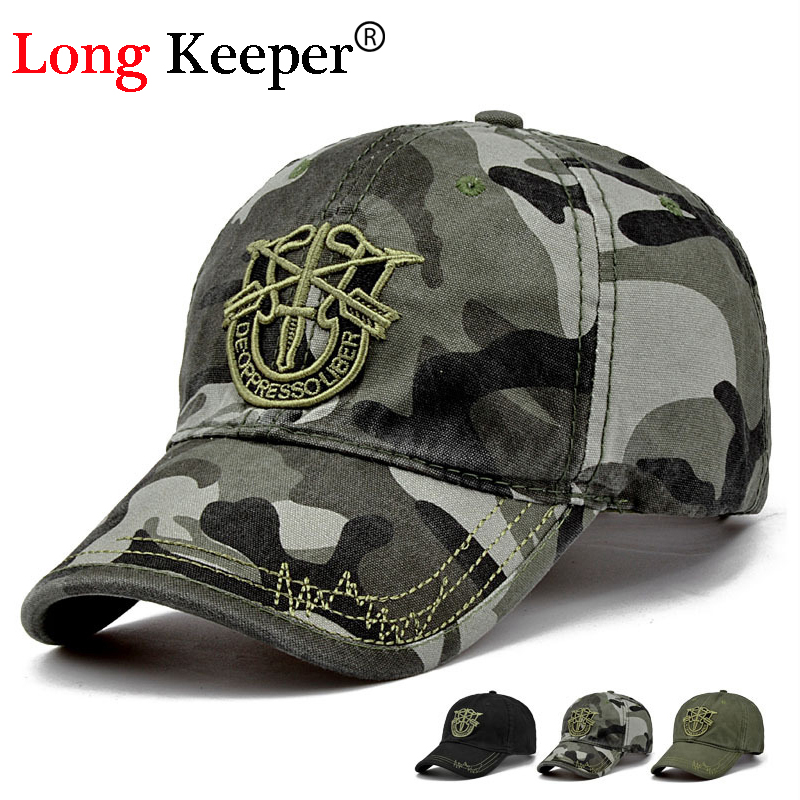 Long Keeper New Men Pentagram Cap Top Quality Caps for Hunting Fishing Hat Outdoor Camo Baseball Hats Adjustable clelo brand women messenger bag 2017 high quality pu shoulder bags soft flap with hair ball crossbody bags for female girl lady