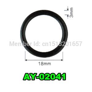 1000pieces set top quality rubber seals viton o ring for bosch injector repair kits AY O2041