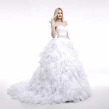 Elegant Vintage Ball Gown Wedding Dress Bridal Gowns