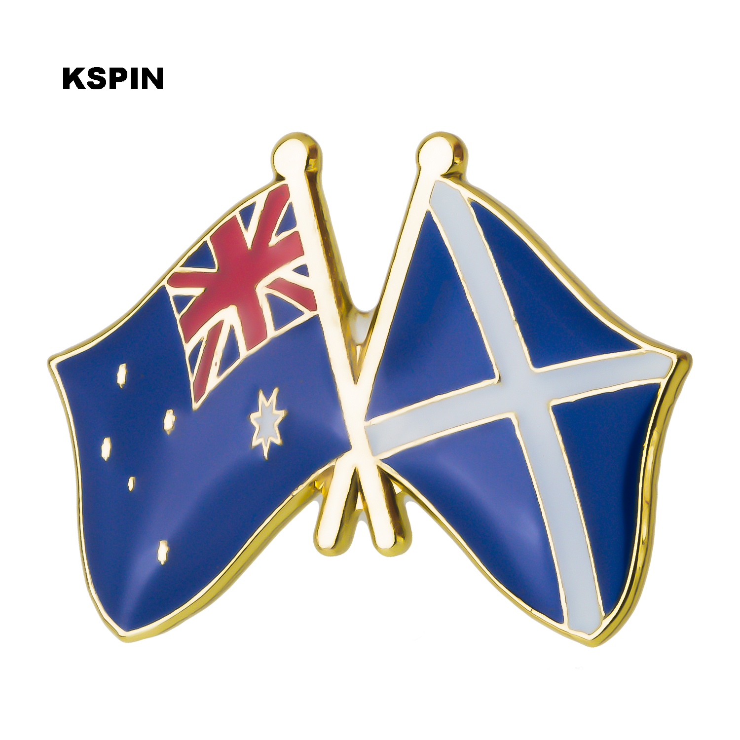 Arts,crafts & Sewing Australia U.s.a Friendship Flag Label Pin Metal Badge Badges Icon Bag Decoration Buttons Brooch For Clothes 1pc Xy0114 Apparel Sewing & Fabric