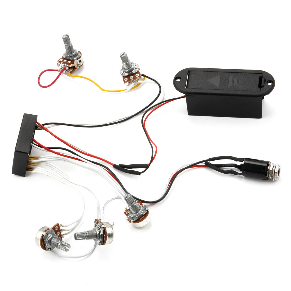 Activebass Wiring For Pickups Diagram Active Bass Guitar Free Shipping 3 Band Eq Preamp Circuit Harness