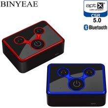 Binyeae Bluetooth 5.0 Aptx baixa latência SPDIF Toslink Optical Transmissor de Música mini A2DP home Sem Fio de áudio estéreo Adaptador de TV