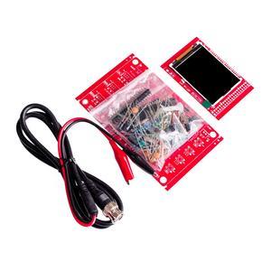 "Image 5 - DSO138 2.4"" TFT Pocket size Digital Oscilloscope Kit DIY Parts Handheld + Acrylic DIY Case Cover Shell"