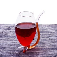 300ML Vampire New Hot Bars Fashion Red Wine Glass Vodka Glasses Whiskey Glassware Drinking Kettle Cup