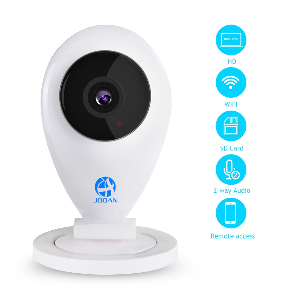 JOOAN 1080P WIFI Wireless Security Camera CCTV Home IP Camera Day/&Night Version