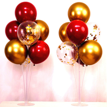 1set Wedding Birthday Party Balloon Holder Stick Stand Accessories Latex Table Floating Supporting Rod