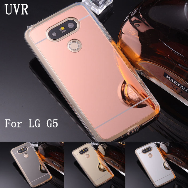 separation shoes 48c73 e00b5 UVR For LG G5 Case H830 Soft TPU Mirror Case Fashion Hot Sale Mobile Phone  Bags For LG G 5 Cover Free Shipping-in Fitted Cases from Cellphones & ...