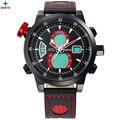 NORTH Men Sport Watch Multifunction Digital Analog Display Male Wristwatch 30M Waterproof 2017 Military Quartz Sport Watch Men