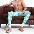 2015 brand Seobean male long johns cotton thermal basic male tight-fitting single tier fashion underpants u plus size M L XL XXL