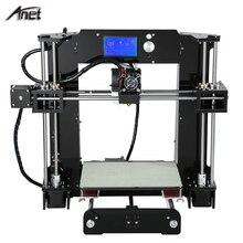 2016 Newest Anet A6 3d-printer diy Large Printing Size Precision Reprap Prusa i3 DIY 3D Printer kit with 10m Filament 8GB Card