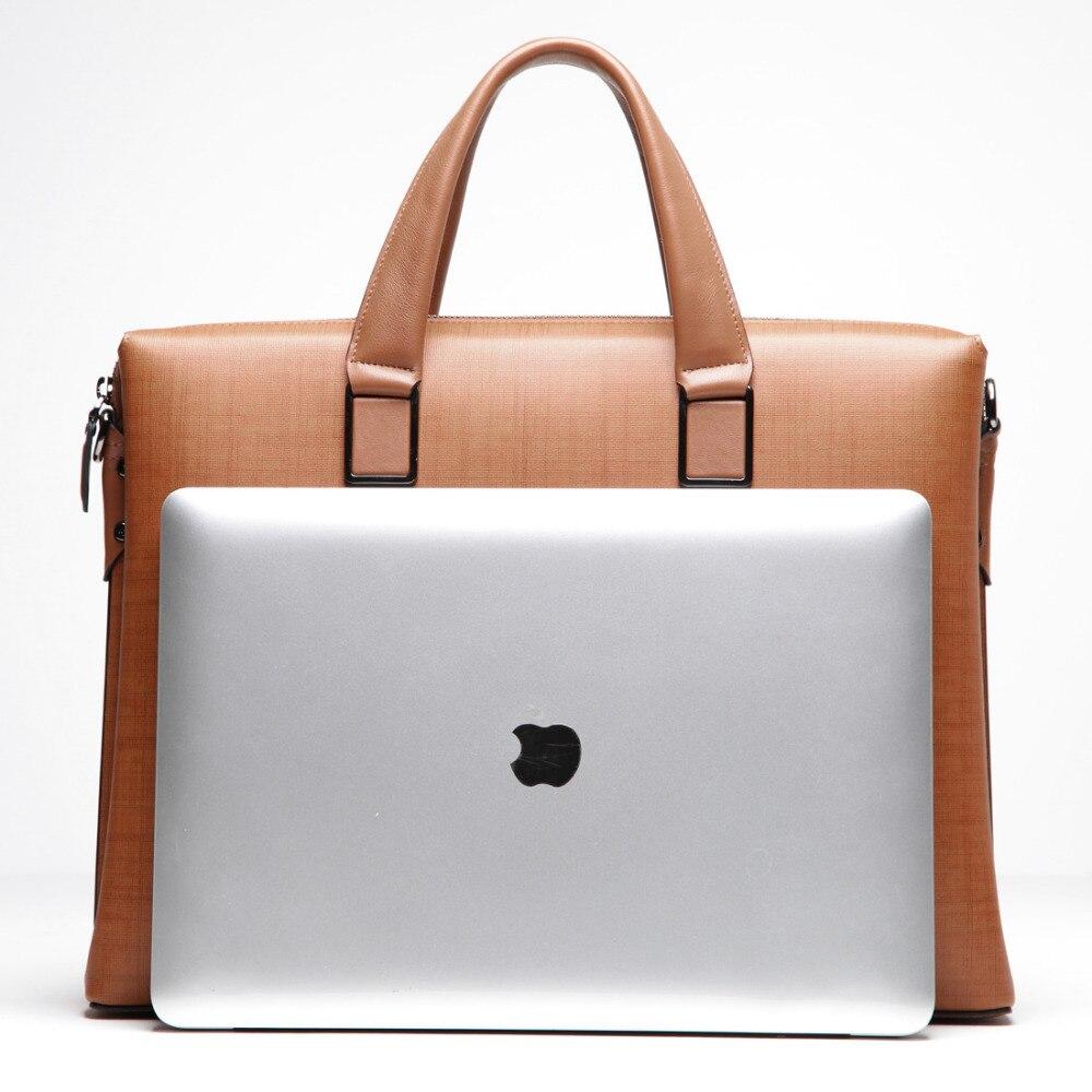 Бвп 100% Пояса из натуральной кожи Для мужчин Курьерские сумки Бизнес сумка для ноутбука Для мужчин Портфели Tote плеча ноутбук Для мужчин порт...