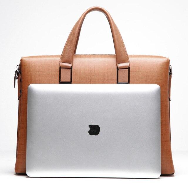 Aliexpress.com : Buy BVP 100% Genuine Leather Men Messenger Bags ...