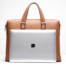 BVP 100% Genuine Leather Men Messenger Bags Business Bag Laptop Men Briefcase Tote Shoulder Laptop Men's Portfolio T1010
