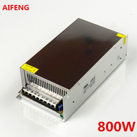 Aifeng 12v/24v/48v 800w Switching Power Supply Source Transformer For Electronics Led Strip Ac To Dc Source 12v 24v 48v