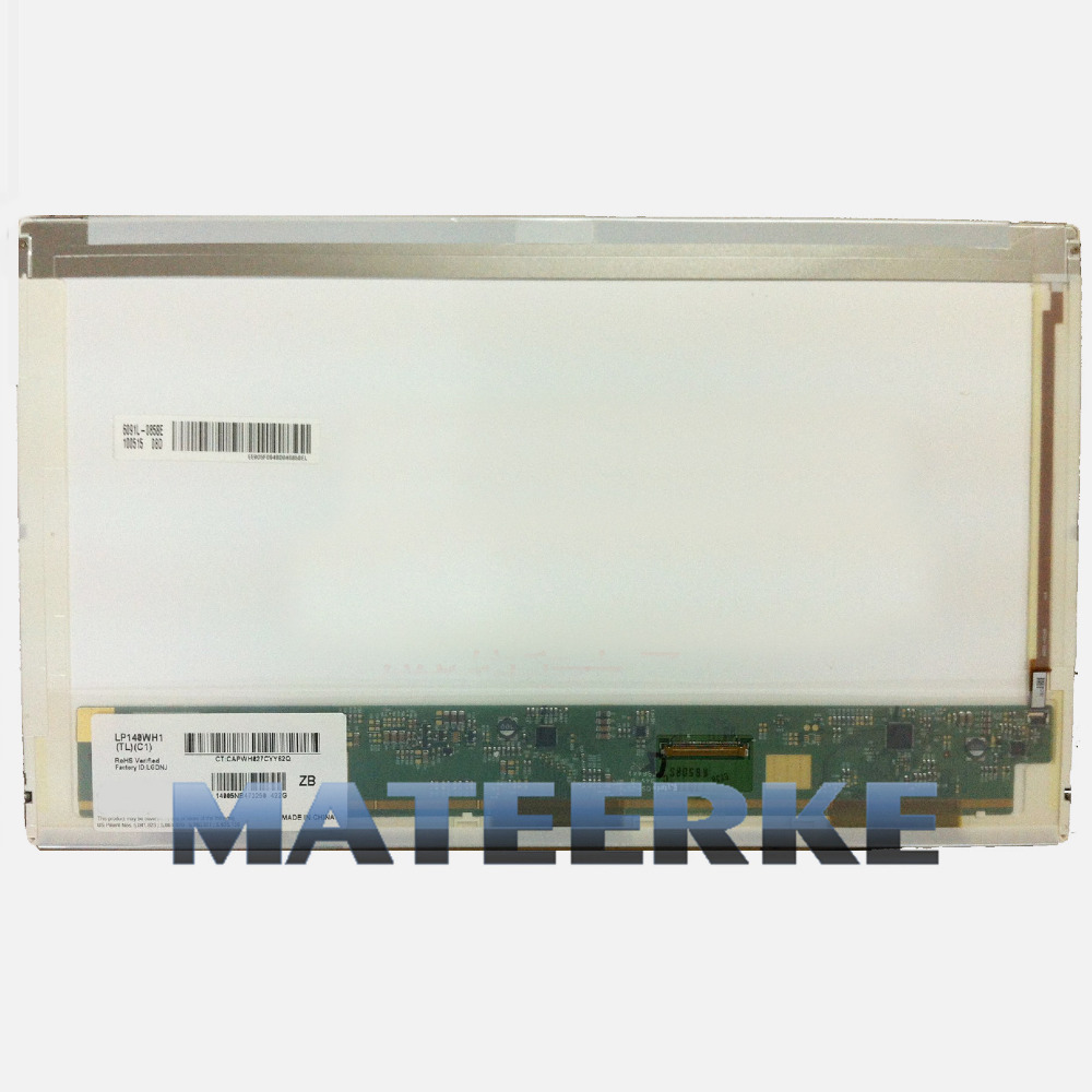 14.0 Laptop LED LCD Screen Display Replacement LTN140AT03/B140XW01 V.2 V3/LP140WH1.TLC1/C2 new 14 0 laptop led lcd screen panel lp140wh1 tl a1 fits lp140wh1 tl e3