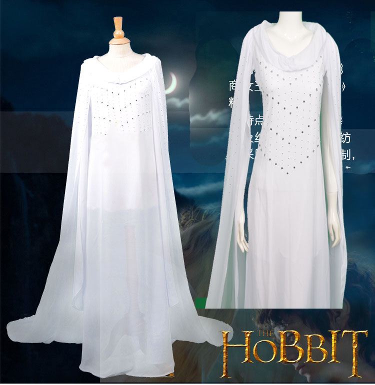 HOT Movie The Hobbit Lord of The Rings Fairy Queen Elven Prince ...