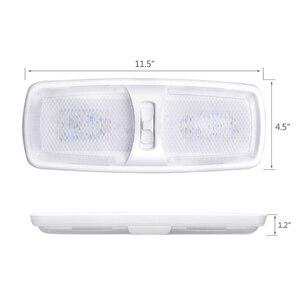 Image 2 - 18 светодиодных купольных ламп для салона автомобиля светодиодный лочная лампа, светильник льник для чтения 12 В, для морской яхты, домов на колесах, кемпера, дома, мотора