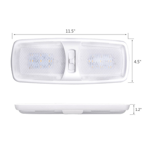 Image 2 - 18LED רכב פנים כיפת אור תקרת מנורת LED קריאת אור 12 V הימי יאכטה RV Camper מנוע בית