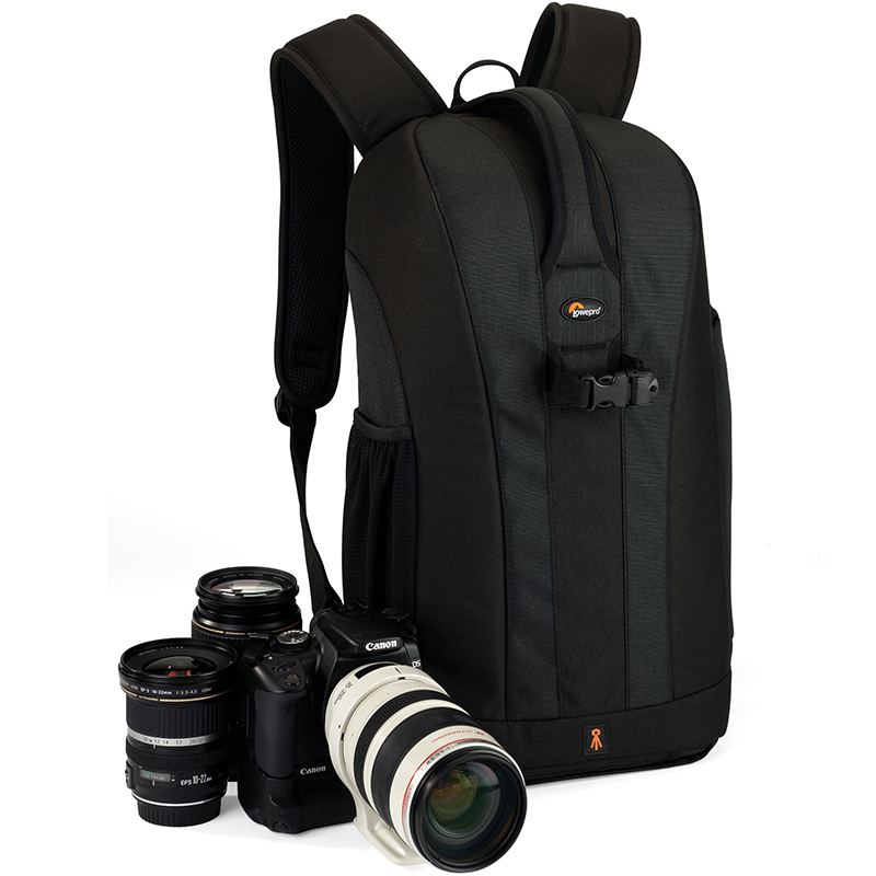 Image 2 - Hot Sale Genuine Lowepro Flipside 300 Digital SLR Camera Photo Bag Backpack with All Weather Cover for Nikon for Canon-in Camera/Video Bags from Consumer Electronics