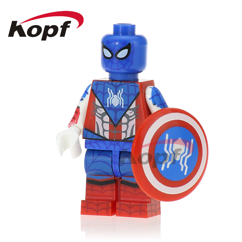 Single Sale Spiderman Spider-homecoming Captian Spider