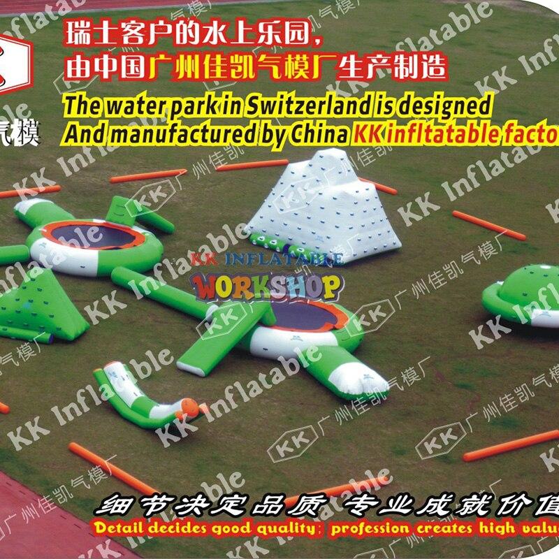 Personnalisation du parc de paradis flottant gonflable de leauPersonnalisation du parc de paradis flottant gonflable de leau