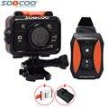 Оригинал SOOCOO S70 Wifi 2 К Голые 30fps Водонепроницаемый Спорт Действий Камеры + Пульт Дистанционного Управления Часы 1 шт. Дополнительных аккумулятор + Зарядное Устройство