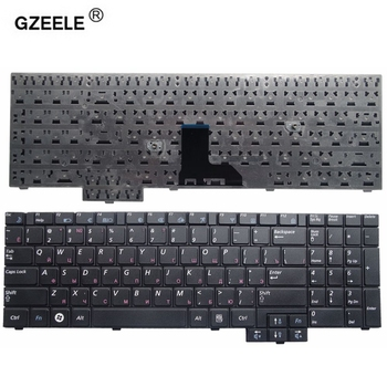 GZEELE NEW RU Replacement laptop Keyboard for Samsung R525 R519 NP-R519 R719 NP-R719 R618 R538 P580 R528 R530 R717 Russian new for samsung np 900x3b 900x3c 900x3d 900x3e laptop keyboard backlit br brazil no frame big enter