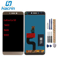 Hacrin For Letv LeEco Le S3 X626 LCD Display Touch Screen 100 New Digitizer Panel For