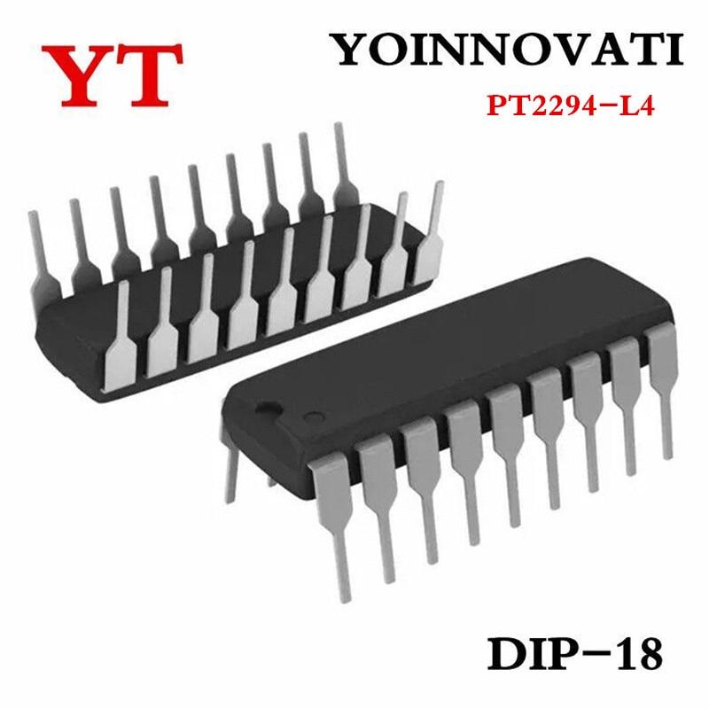 Free shipping 10pcslot PT2294 PT2294-L4 DIP-18 IC.