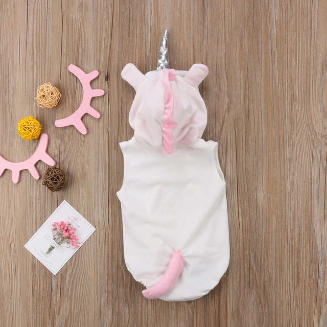 Hooded Unicorn Bodysuit